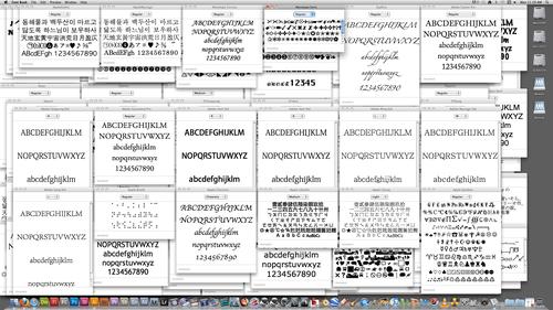 typography overload