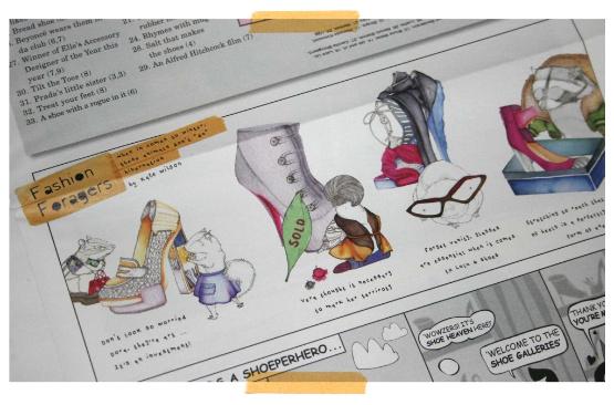 Shoespaper